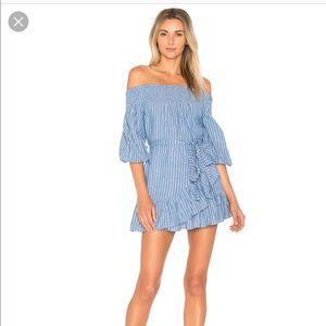 Tularosa Maida Ruffle Dress small